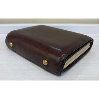 エムピウ(m+)の財布 エムピウ M+ ブラウン ミッレフォッリエ 【送料無料】(折り財布)