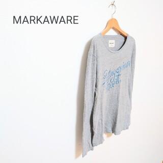 マーカウェア(MARKAWEAR)のMARKAWARE マーカウェア レターロゴカットソー(Tシャツ/カットソー(七分/長袖))