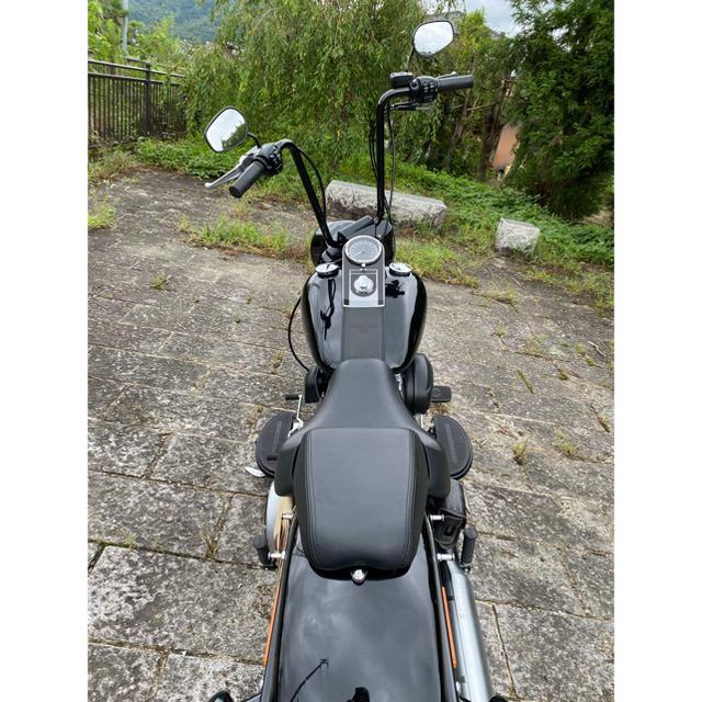 Harley Davidson(ハーレーダビッドソン)の検2年 ハーレーダビッドソン ファットボーイロー 2014年式 構造変更登録済 自動車/バイクのバイク(車体)の商品写真