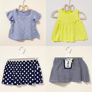 オールドネイビー(Old Navy)のベビー 女の子 80   まとめ ①(Tシャツ)