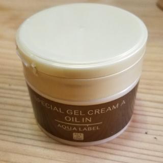 アクアレーベル(AQUALABEL)のアクアレーベルスペシャルジェルクリームA(オールインワン化粧品)