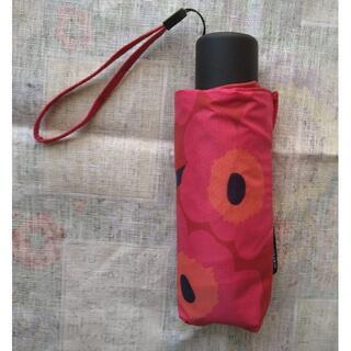 マリメッコ(marimekko)のmarimekko 折りたたみ傘(傘)