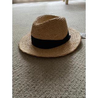 ユニクロ(UNIQLO)の新品 タグ付き 麦わら帽子 ストローハット(麦わら帽子/ストローハット)