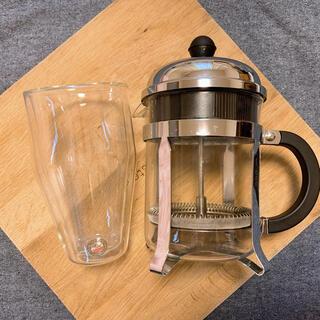 bodum ボダム グラス とcoffee Bodum Frenchプレスセット