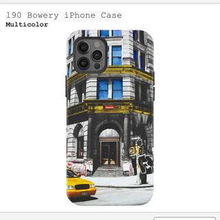 シュプリーム(Supreme)のSupreme iPhoneケース 190 Bowery iPhone Case(iPhoneケース)