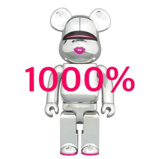 メディコムトイ(MEDICOM TOY)のBE@RBRICK SORAYAMA 2G SILVER Ver. 1000%(フィギュア)