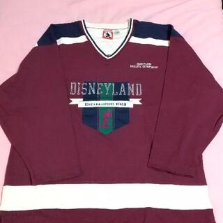 ディズニー(Disney)の未使用 ディズニーランド カリフォルニア ミッキー 長袖トレーナー(Tシャツ/カットソー(七分/長袖))