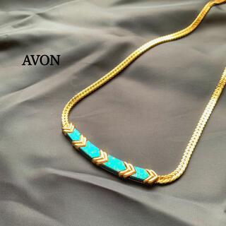 エイボン(AVON)のヴィンテージ コスチュームジュエリー AVON ネックレス ゴールド系 喜平(ネックレス)