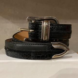 シュプリーム(Supreme)のSupreme Patchwork Ranger Belt L/XL 黒(ベルト)