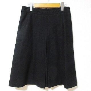 クロエ(Chloe)のCHLOE 美品 スカート ひざ丈 フレア ウール 国内正規品 36 W74(ひざ丈スカート)