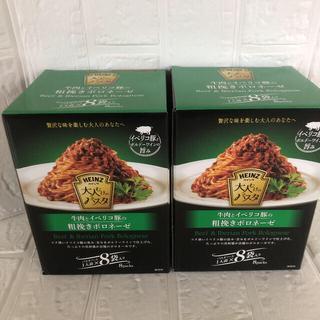 ハインツ 牛肉とイベリコ豚の粗挽きボロネーゼ130g ×16袋