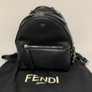 フェンディ(FENDI)のFENDI フェンディ バッグ バイザウェイ バックパック リュック ビジュー(リュック/バックパック)