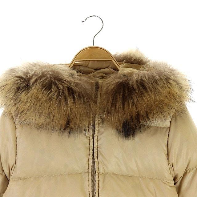 DUVETICA(デュベティカ)のデュベティカ DUVETICA ADHARA ファーフードダウンジャケット レディースのジャケット/アウター(ダウンジャケット)の商品写真