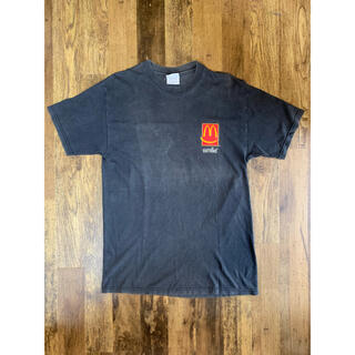 マクドナルド(マクドナルド)のマクドナルド travis scott 元ネタ 90s ビンテージ  古着 レア(Tシャツ/カットソー(半袖/袖なし))