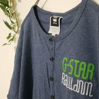 ジースター(G-STAR RAW)のG-STAR RAW ジースターロウ 刺繍 ロゴ Tシャツ 半袖(Tシャツ/カットソー(半袖/袖なし))
