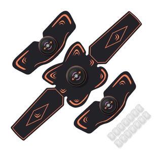 【新品・便利】EMSベルト 筋トレ 10段階強度 6モード USB充電式 腹筋(エクササイズ用品)