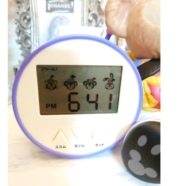 ダッフィー(ダッフィー)のダッフィー目覚まし時計 オマケ付 インテリア/住まい/日用品のインテリア小物(置時計)の商品写真