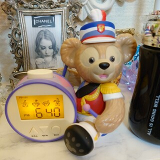 ダッフィー(ダッフィー)のダッフィー目覚まし時計 オマケ付(置時計)