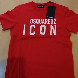 ディースクエアード(DSQUARED2)のdsquared2  キッズ 8y  新品未使用 レッド(Tシャツ/カットソー)