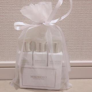 ミキモトコスメティックス(MIKIMOTO COSMETICS)のミキモトコスメ スキンケアセット(シャンプー/コンディショナーセット)