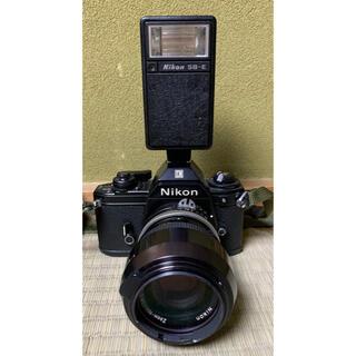 ニコン(Nikon)の動作品 NIKON EM フィルムカメラ シャッター、レンズ付き(フィルムカメラ)