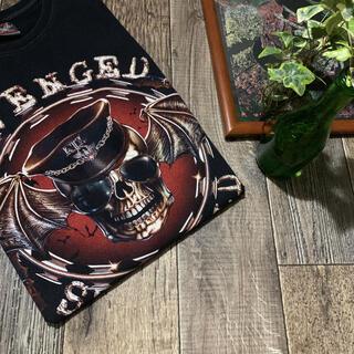 フィアオブゴッド(FEAR OF GOD)のAVENGED SEVENFOLD 大判 Skull T-SHIRT 確認用(Tシャツ(半袖/袖なし))