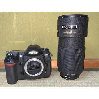 ニコン(Nikon)のNIKON D200 フィルムカメラ NIKON EDレンズ付き(フィルムカメラ)