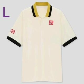 ユニクロ(UNIQLO)の新品ユニクロポロシャツ L 錦織圭全仏モデル テニス フェデラー 日常使い等(ウェア)