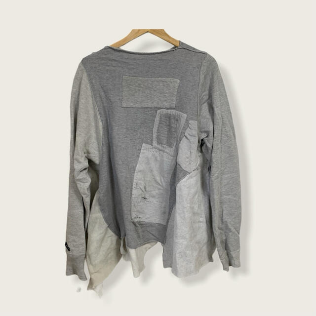 Paul Harnden(ポールハーデン)のproposition Handmade Patchwork jersey メンズのトップス(スウェット)の商品写真