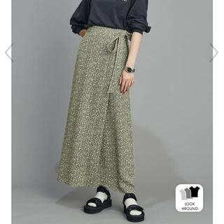 シンゾーン(Shinzone)のシンゾーン アラベスクラップスカート shinzone(ロングスカート)