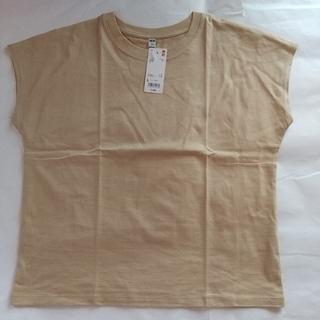 ユニクロ(UNIQLO)のUNIQLO  ユニクロ  スムースコットン  フレンチスリープT(Tシャツ(半袖/袖なし))