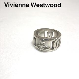 ヴィヴィアンウエストウッド(Vivienne Westwood)のVivienne Westwood リング  オーブ柄 シルバー925 19号 (リング(指輪))