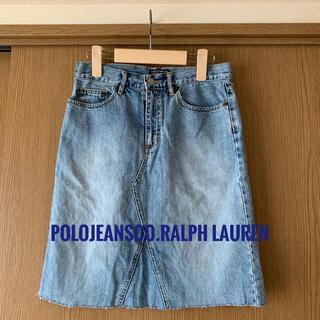 ポロラルフローレン(POLO RALPH LAUREN)のPOLOJEANSCO RALPH LAURENデニムスカートポロラルフローレン(ひざ丈スカート)