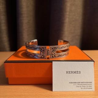 エルメス(Hermes)の超希少 エルメス トゥアレグ ブレスレット HERMES バングル T5(バングル/リストバンド)