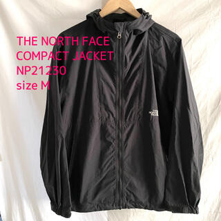 THE NORTH FACE - THE NORTH FACE COMPACT JACKET 黒 M ナイロン