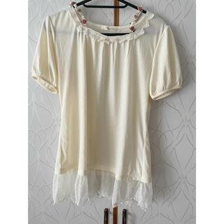 アクシーズファム(axes femme)のアクシーズファム トップス 肩紐トップス レーストップス(Tシャツ(半袖/袖なし))