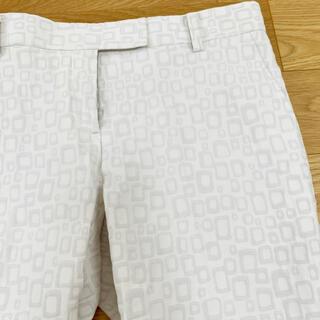 トゥモローランド(TOMORROWLAND)のトゥモローランド ♡ 白パンツ(クロップドパンツ)