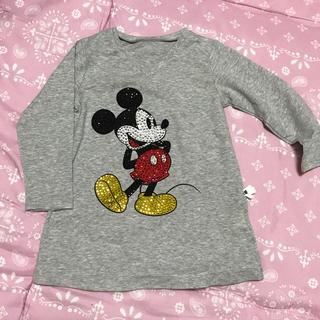 ディズニー(Disney)の期間限定値下げ!!新品☆ミッキーチュニック 100cm(Tシャツ/カットソー)