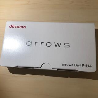 アローズ(arrows)のArrows Be4 F-41A 新品 ホワイト(スマートフォン本体)