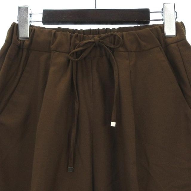 DOORS / URBAN RESEARCH(ドアーズ)のアーバンリサーチ ドアーズ ストレッチ テーパード イージー パンツ 茶 36 レディースのパンツ(その他)の商品写真