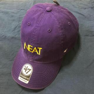 コモリ(COMOLI)のニート NEAT パープル キャップ 47 フォーティーセブン(キャップ)