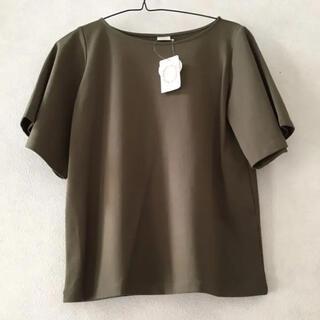テチチ(Techichi)のテチチ 新品 半袖 Tシャツ カーキ プルオーバー 無印良品 ZARA 好きにも(Tシャツ(半袖/袖なし))