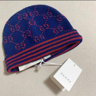 グッチ(Gucci)のGucci グッチ チルドレン キッズ ニット帽 レディース(帽子)