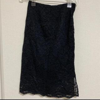 ジーユー(GU)のGU レース タイトスカート(ひざ丈スカート)