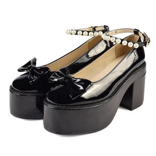 エブリン(evelyn)のevelyn 厚底ジューズ 新品(ローファー/革靴)