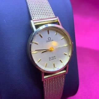 オメガ(OMEGA)の美品 OMEGA オメガ デビル ハイブランド クォーツ 腕時計 レディース(腕時計(アナログ))