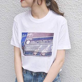 SHIPS for women - ☆新品☆ ships  Roberta Bayley プリント Tee シップス