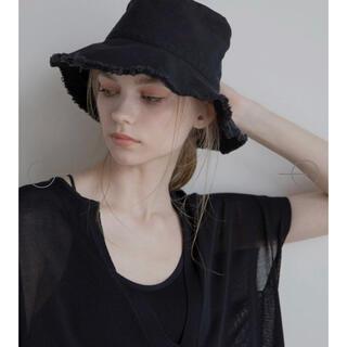 アメリヴィンテージ(Ameri VINTAGE)のmieli invaliant❥❥ Fringe Cotten Hat(ハット)