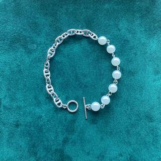 ジエダ(Jieda)のpearl  chain bracelet(ブレスレット)