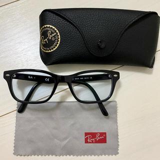 レイバン(Ray-Ban)の【RayBan】眼鏡 RB5345D-2000-53 ブラック アジアンフィット(サングラス/メガネ)
